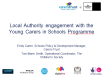Local Authority Engagement with the Young Carers in Schools Programme
